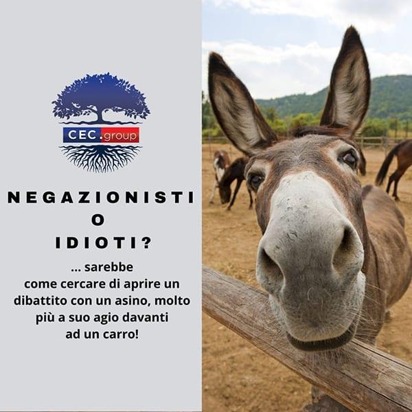 Negazionisti o idioti